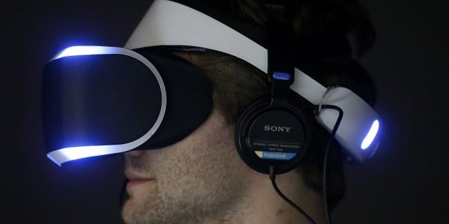 Project Morpheus Sparks VR Race