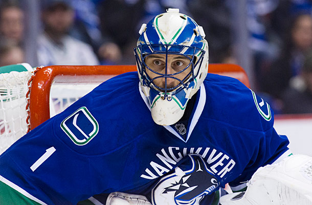 NHL Sports Vancouver Canucks Roberto Luongo