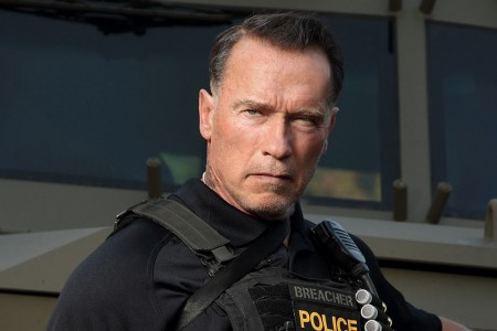 'Sabotage' Arnold Schwarzenegger Getting His Mojo Back