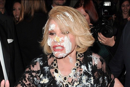 Joan Rivers TKO by Miss Piggy a Piece of Cake (Video)
