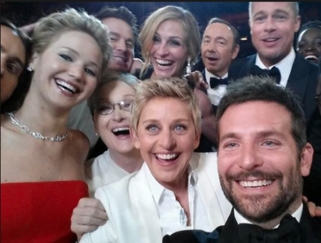 Ellen DeGeneres Oscars Selfie When Spontaneous Is Not