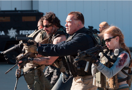 Arnold Schwarzenegger in Sabotage a Grownup Film for Grownup Fans