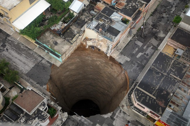 Sinkholes Can Now Be Predicted by NASA