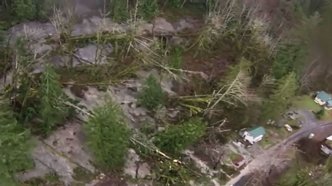 Snohomish Mudslide Rescue Operations Hampered