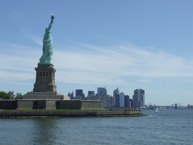 Statue of Liberty Could Be Taken by The Rising Sea in Climate Change