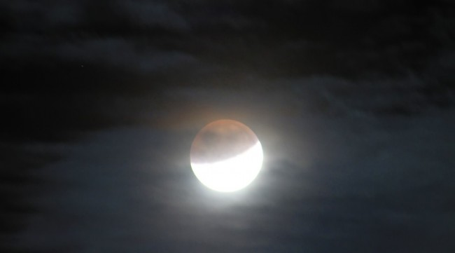 Total Lunar Eclipse in April