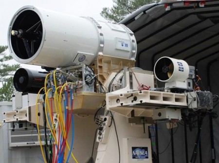 US Navy Laser and Rail Guns of the Future
