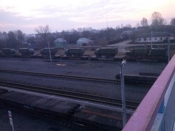 Ukraine: Russian Military Buildup at Novozybkov, 50 KM From Chernihiv Border ... - Guardian Liberty Voice