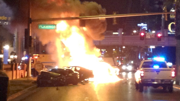 Las Vegas Strip Shooting and Fiery Crash Not Over After a Year