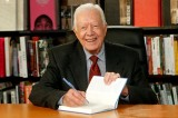 Jimmy Carter Signs 1,600 Copies of 'A Call to Action' at Powell's Books