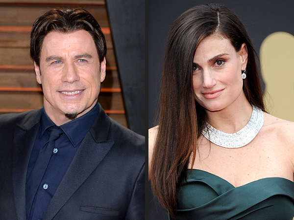 John Travolta Butchers Idina Menzel Name at Oscars ...