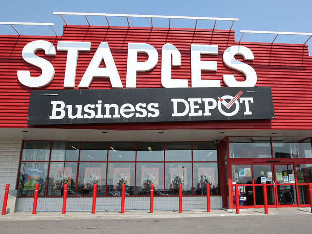 Staples Closing 225 Stores in the US and Canada