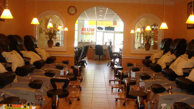 Stay classy new jersey woman has baby in nail salon for A new look nail salon