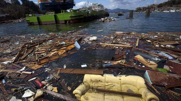 japan tsunami debris three years later