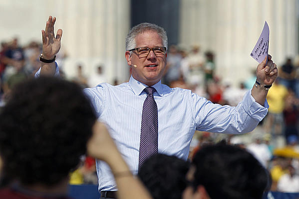 Glenn Beck Takes a Cue From Putin by Invading Hollywood