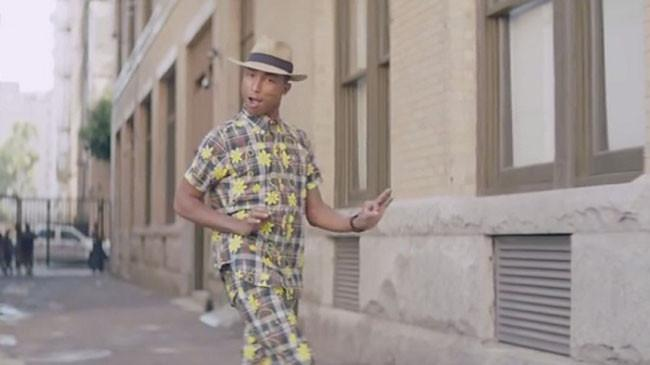 Pharrell Keeping People 'Happy' as Song Continues to Top Charts [VIDEO]