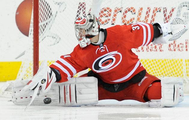 Carolina Hurricanes Anton Khudobin NHL Daily