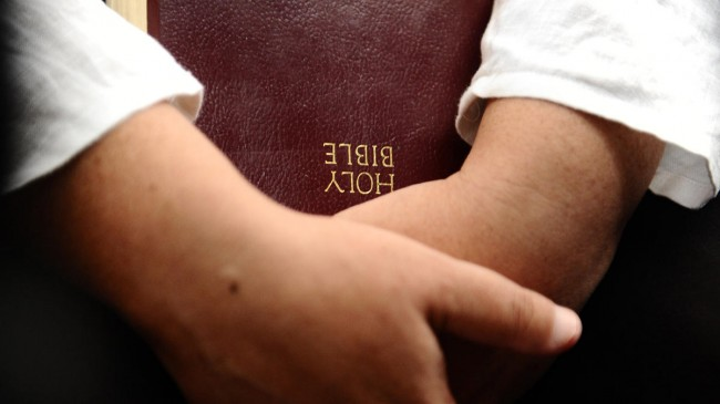 Bible taken from elementary student during silent reading time