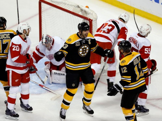 Boston Bruins Detroit Red Wings Stanley Cup Playoffs NHL Daily