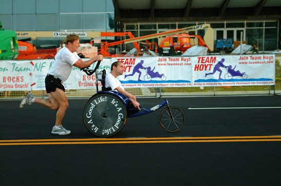 Boston Is Last Marathon for Dick and Rick Hoyt