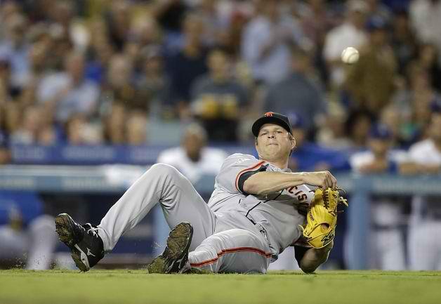 Matt Cain Giants Give Up Long Ball Dodgers Avoid Sweep
