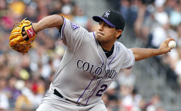 Colorado Rockies Jorge De La Rosa