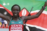 Edna Kiplagat Wins Women's London Marathon