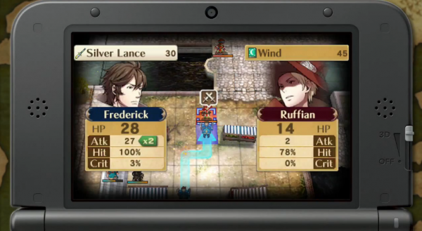 Fire Emblem Awakening by Intelligent Systems of the Nintendo 3DS