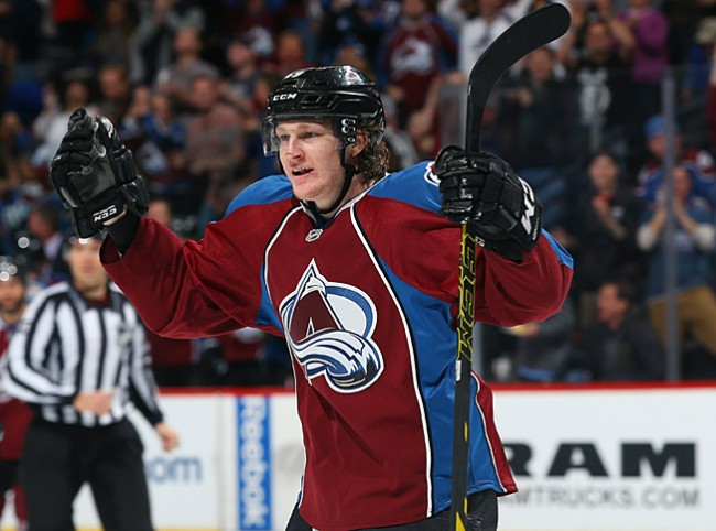 NHL Daily Colorado Avalanche Calder Trophy MacKinnon