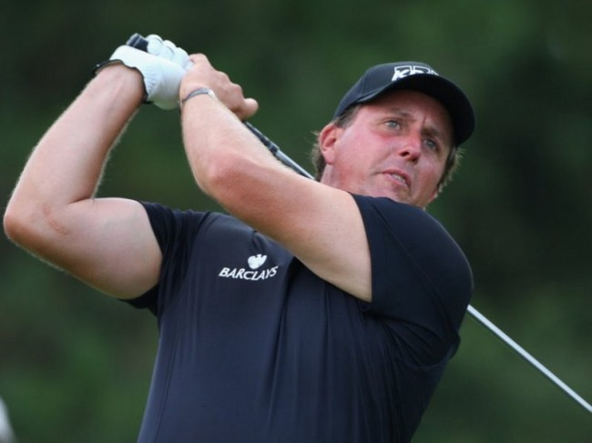 Phil Mickelson Golf Shots