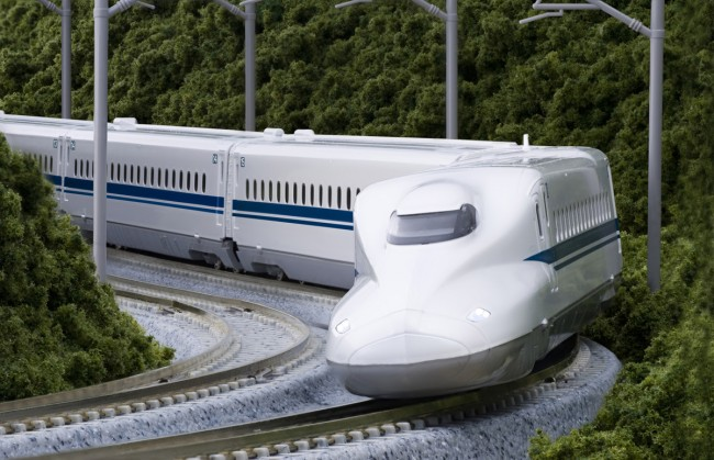 Governor Brown Wants a High Speed Bullet Train