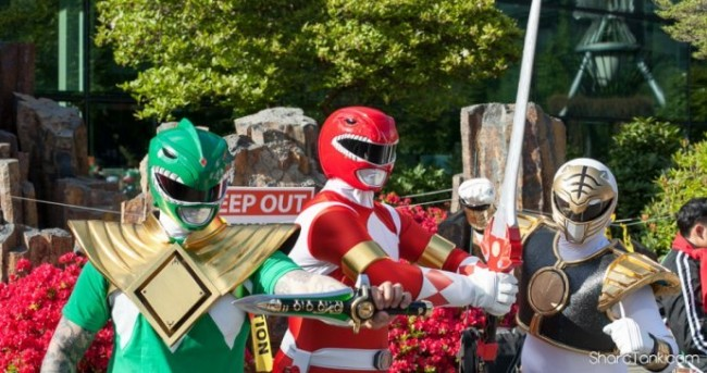 Power Rangers at 420 Easter Weekend
