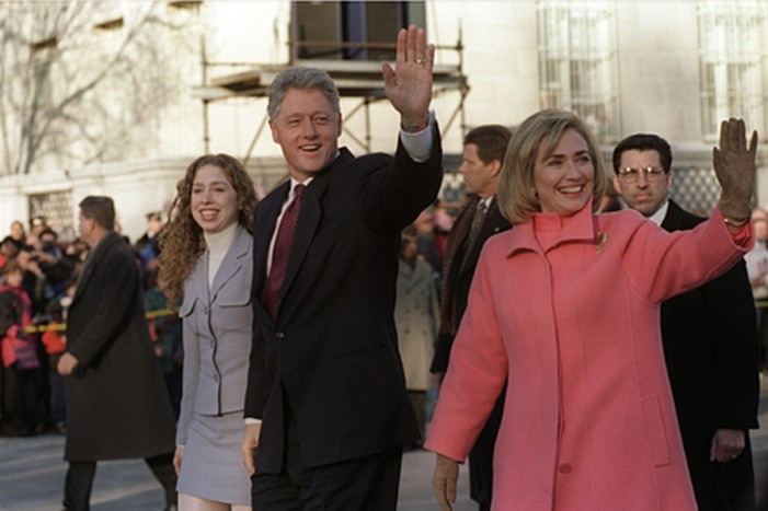 Bill Clinton Backs Chelseas New Mom in Controversial Congressional Bid