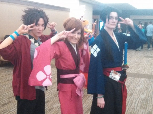 All Ladies Samurai Champloo anime sakura con