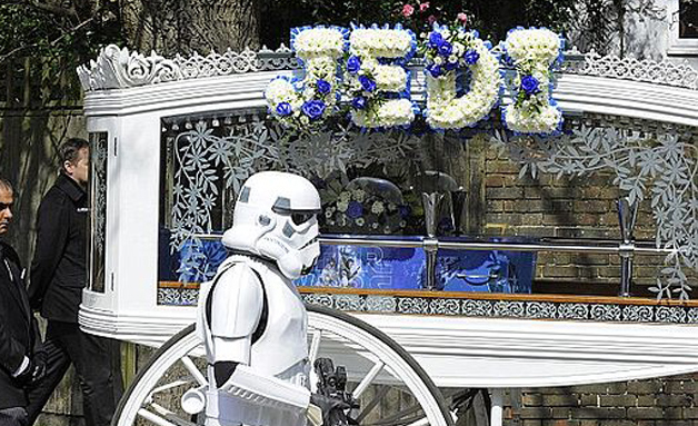 Robinson Star Wars funeral
