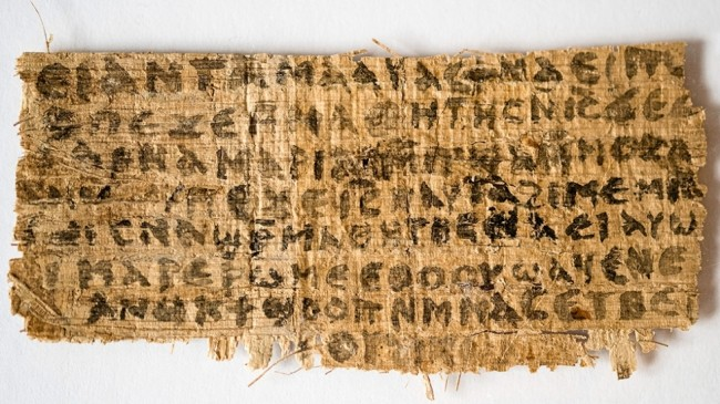 Jesus Was Married According to Papyrus No Evidence of Forgery