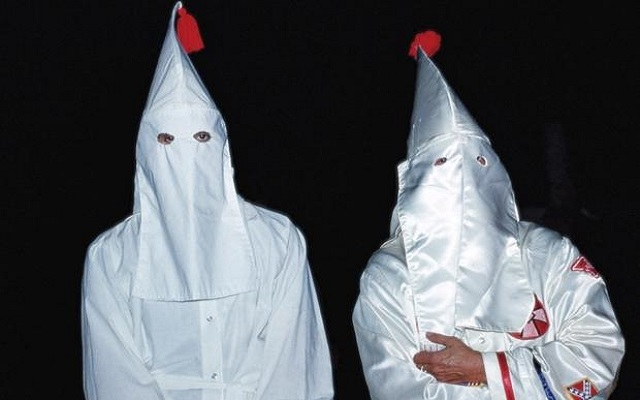 Ku Klux Klan (KKK) in charge of neighborhood watch