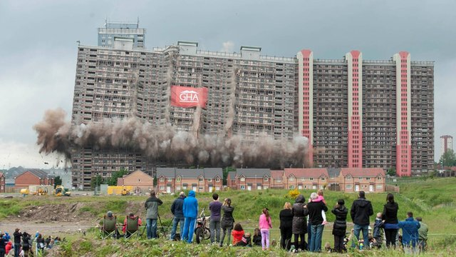 Live Demolition to Set Stage for Glasgow Commonwealth Games