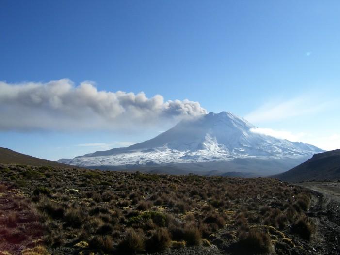 Locals Evacuate as Peru's Ubinas Volcano Erupts
