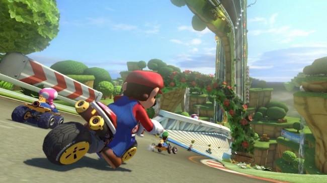 Mario Kart 8 Nintendo WiiU Technology