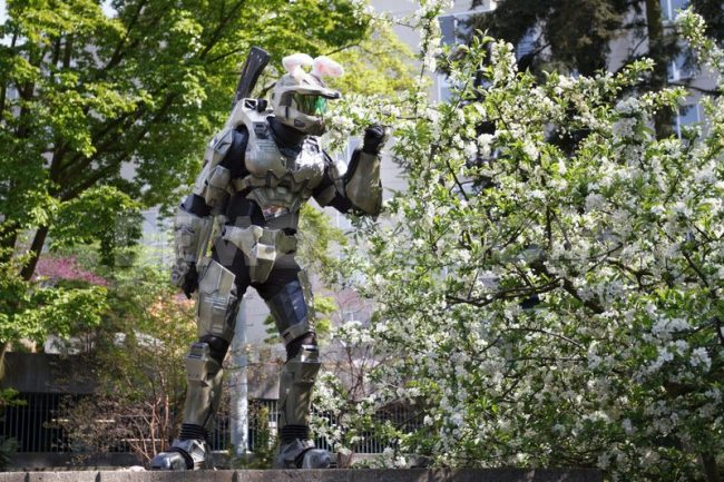 Halo Bunny Master Chief Sakura Con Easter 420 Weekend