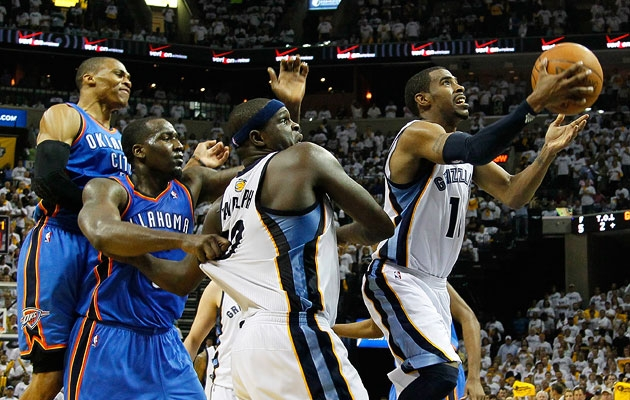 Memphis Grizzlies Take Another OT Win From Oklahoma City Thunder 98-95