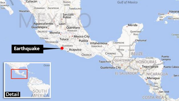 Mexico Earthquake Magnitude 7 · Guardian Liberty Voice