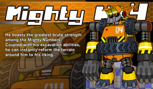 # 4 Mighty No. 9