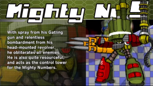 Mega Man style game Mighty No. 9 and the 8 bosses