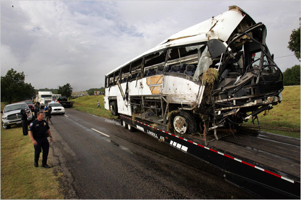 Nine Confirmed Dead in High School Bus Crash