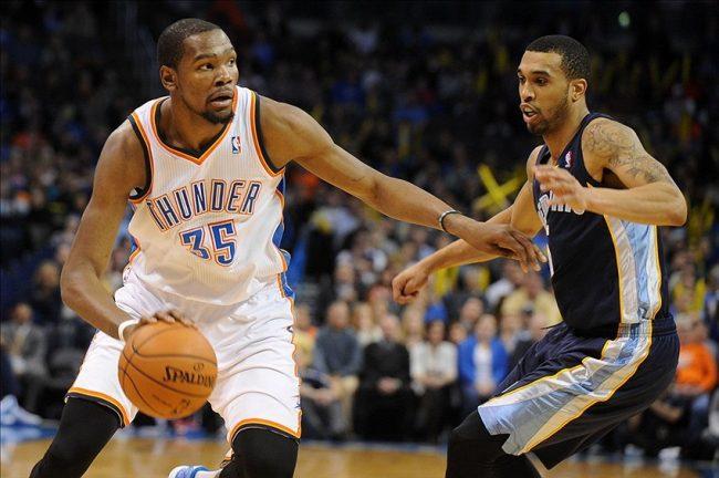 Thunder NBA Playoffs Grizzlies