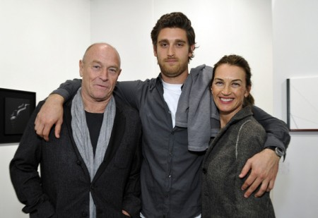 Corbin Bernsen Stands Back as Son Oliver Starts to Shine