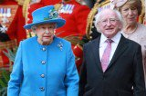Queen Elizabeth Welcomes Irish President