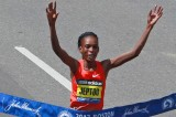 Rita Jeptoo Wins Women's Boston Marathon in 2:18:57